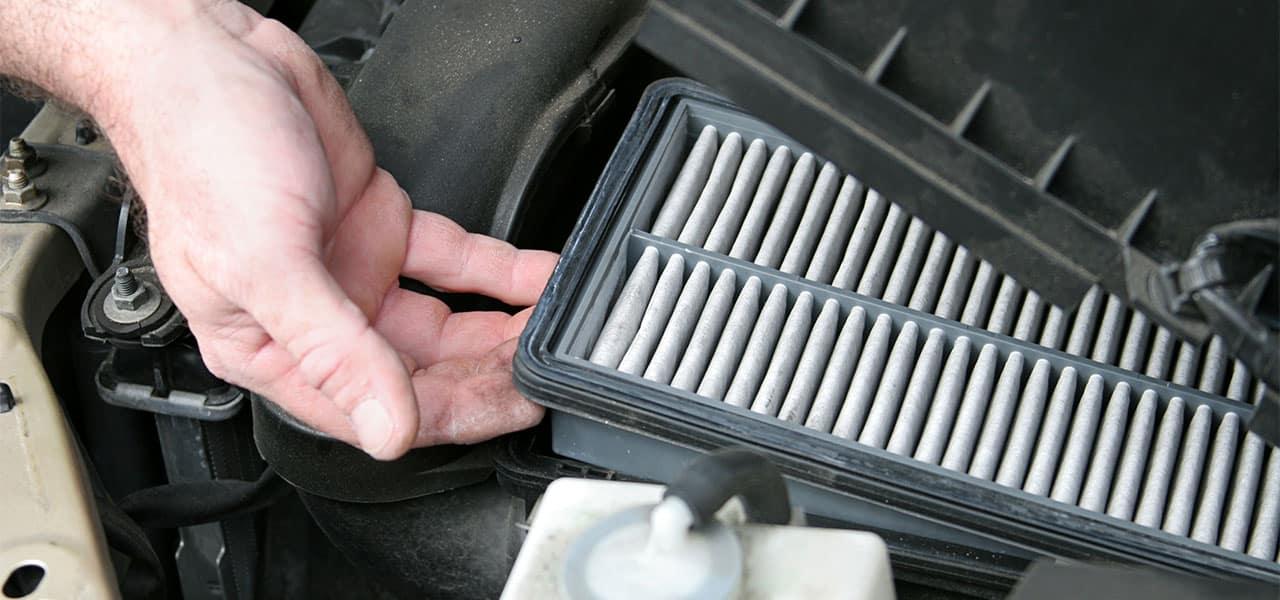 Simptomele unui filtru de aer murdar